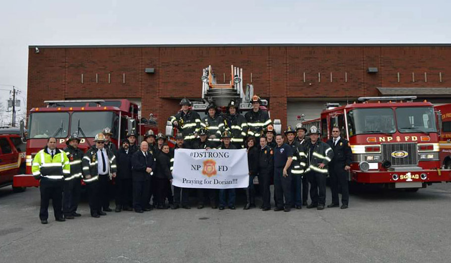 North Providence Fire Department supports #DStrong. Praying for Dorian.