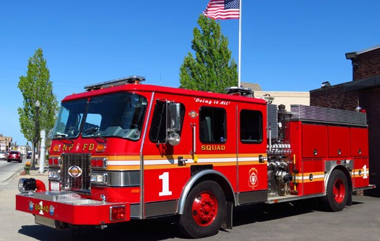 Squad 1 1991 E-ONE Retrofitted Rescue Pumper
