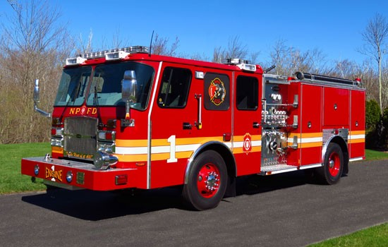 2014 E-ONE Typhoon pumper placed in service 5/27/2014