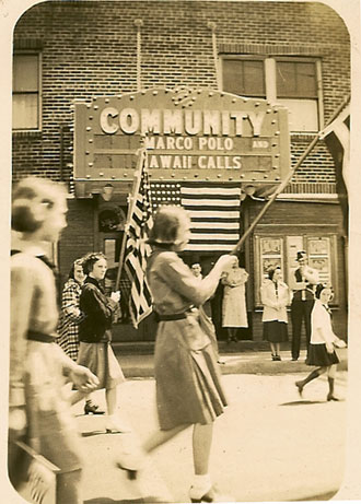 Community Theater which was the second theater in Centerdale