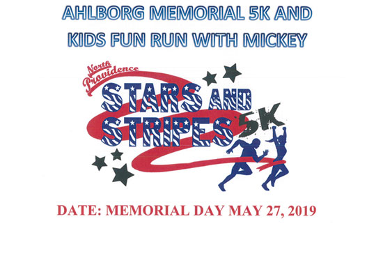 Ahlborg Memorial Day 5K and Kids Fun Run with Mickey