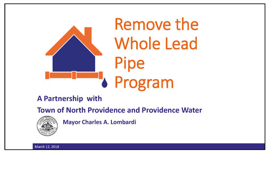 Remove the Whole Lead Pipe Program