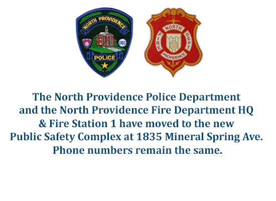 Police & Fire Departments have moved.