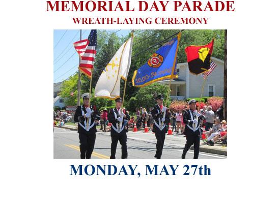Memorial Day Parade & Celebration