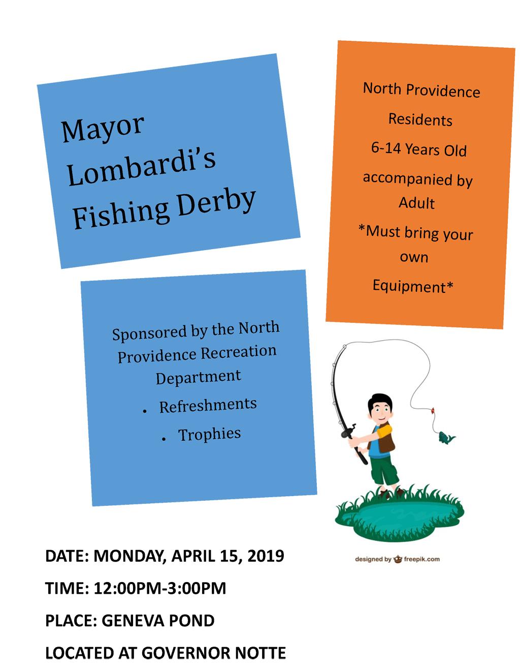 Mayor Charles A. Lombardi Fishing Derby