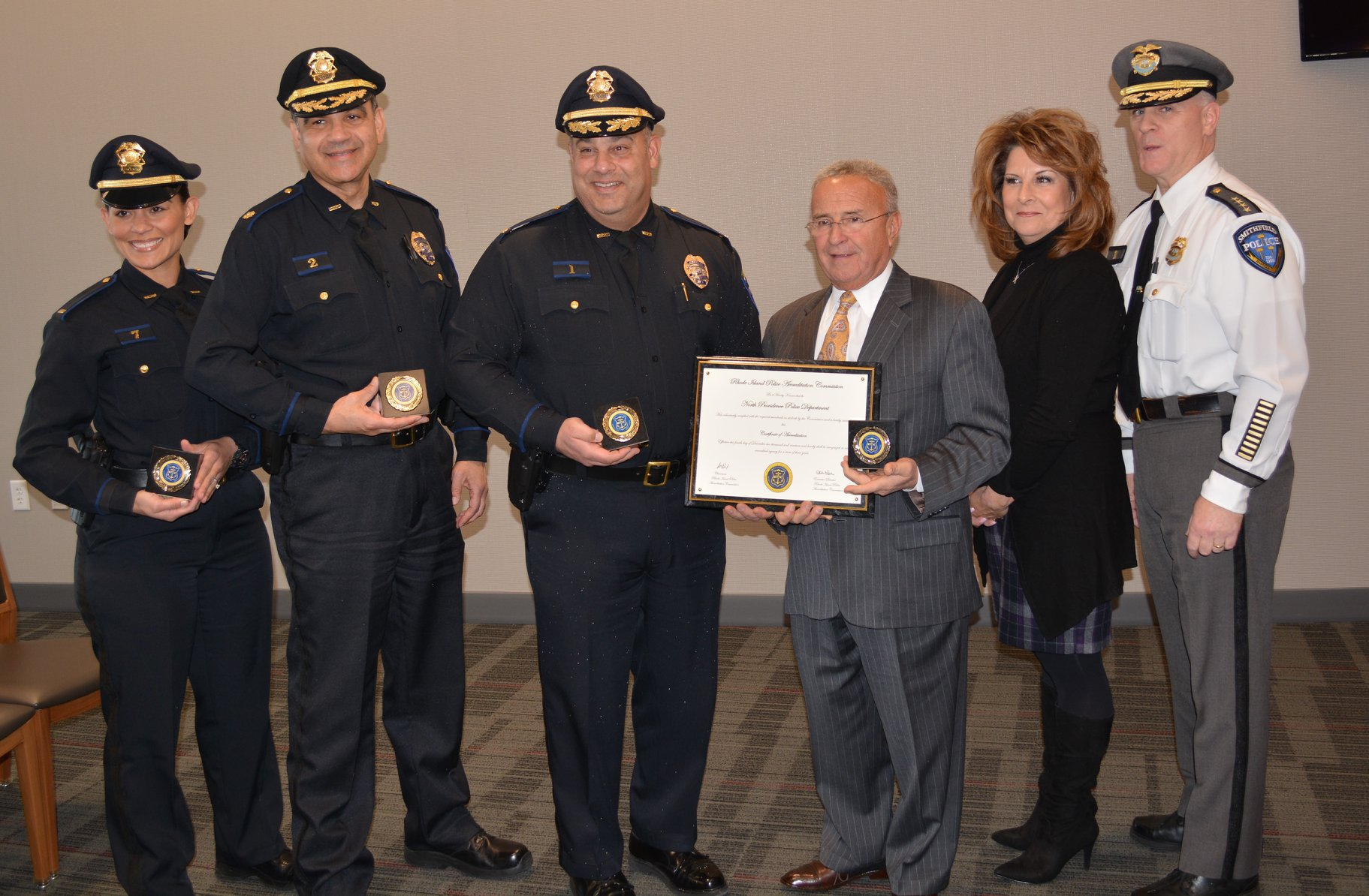 North Providence Police Department Attains RIPAC Accreditation
